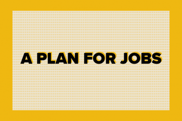 A Plan for Jobs